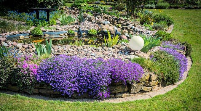 Steingarten anlegen und gestalten