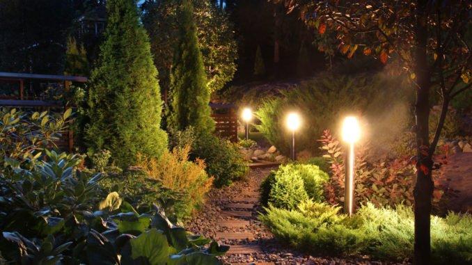 Garten Richtig Beleuchten Kerzenschein Offenes Feuer Strahler Co