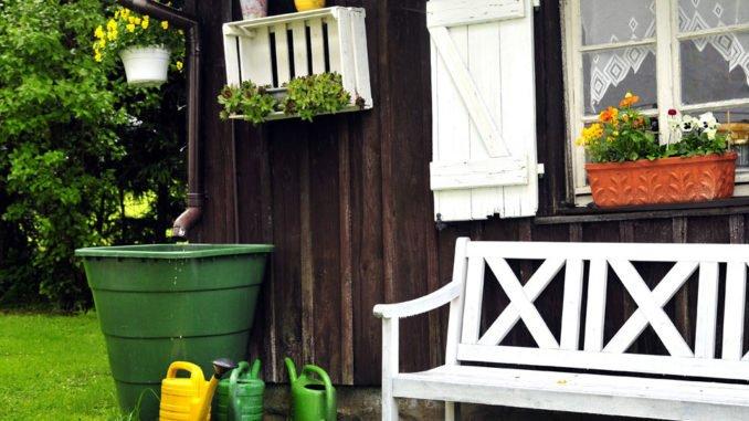 Regentonne Garten Nutzen