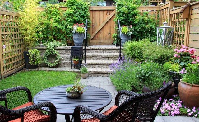 Sichtschutz für Terrassen aus Holz