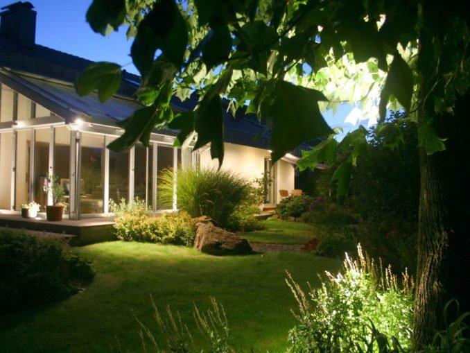 Lichteffekte Garten