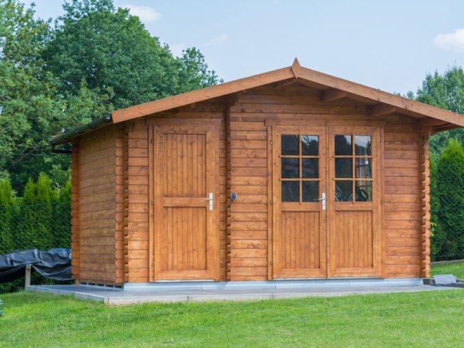 Gartenhaus - Fassade schützen