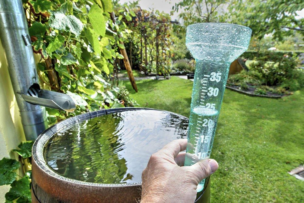 Regenwasser sammeln