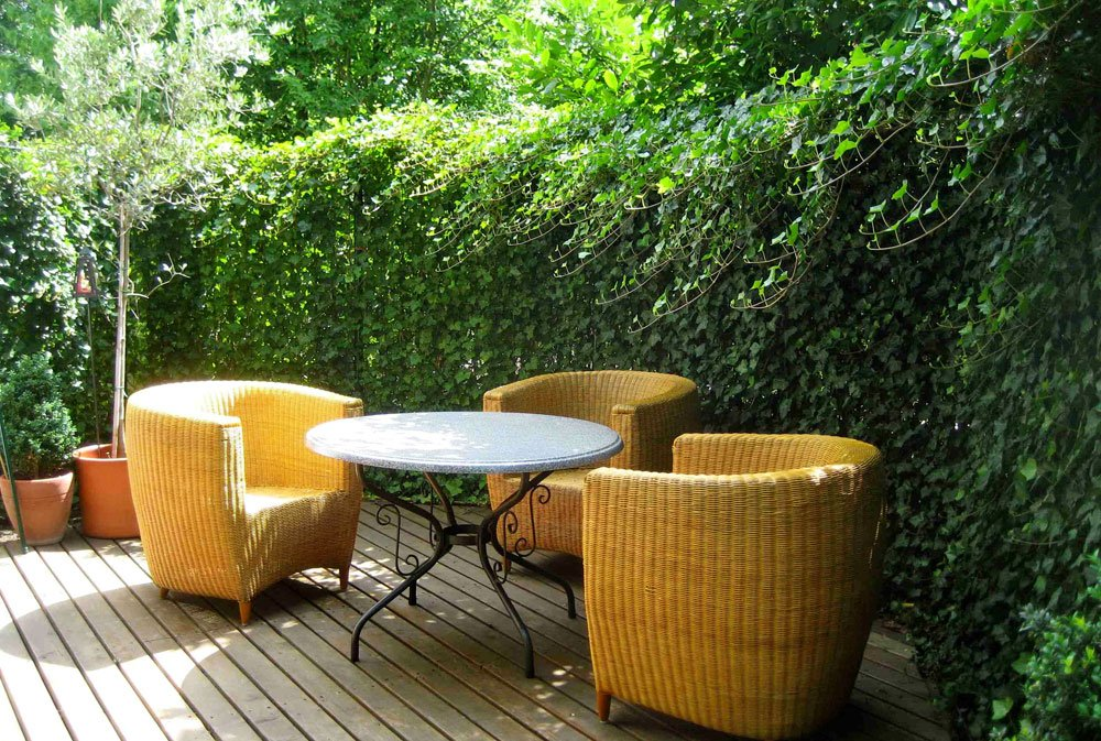 Privatsphäre Garten