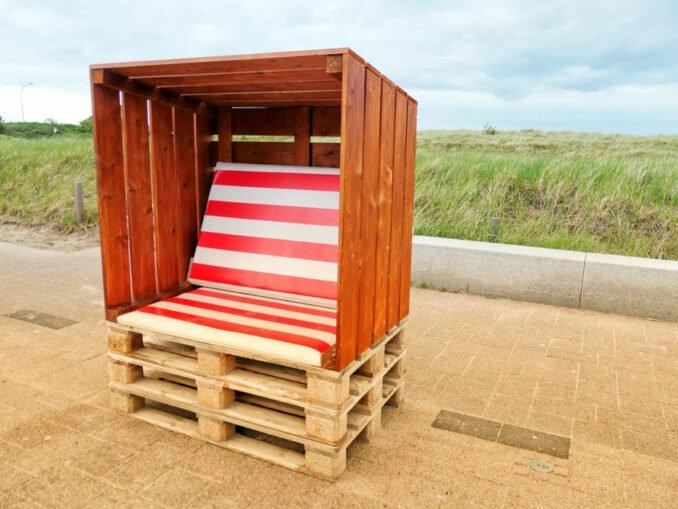 Strandkorb selber bauen