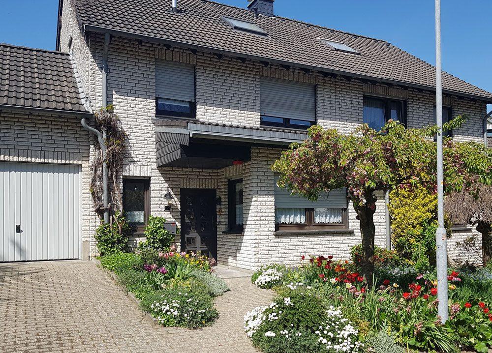 Vorgarten Haus