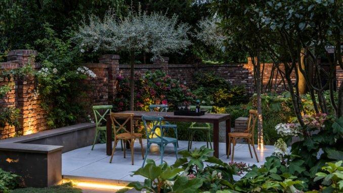Abendgarten gestalten